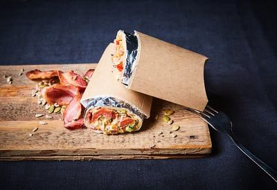 Wrap with bacon